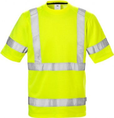 Fristads High Vis T-Shirt 7024 CL 3 THV (Hi Vis Yellow)
